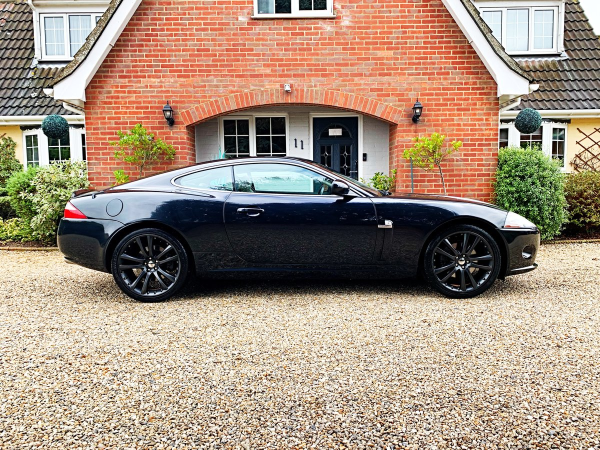 2007 JAGUAR XK 4.2 COUPE STUNNING LOW MILES WITH FSH For Sale (picture 2 of 6)
