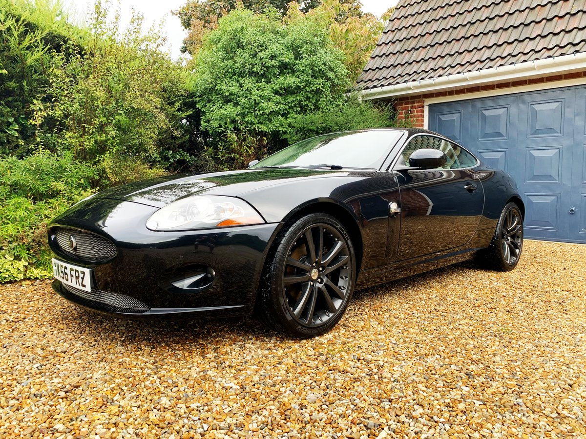2007 JAGUAR XK 4.2 COUPE STUNNING LOW MILES WITH FSH For Sale (picture 3 of 6)