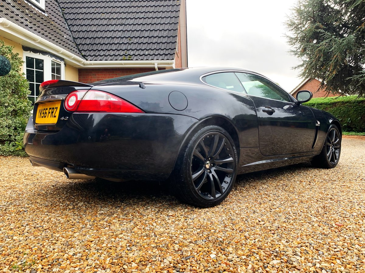 2007 JAGUAR XK 4.2 COUPE STUNNING LOW MILES WITH FSH For Sale (picture 4 of 6)
