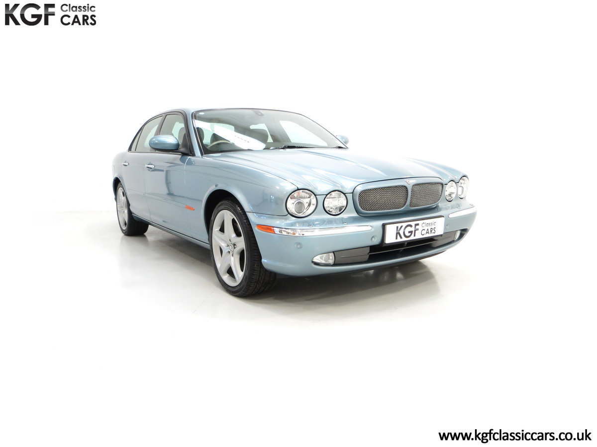 2003 A Stunning Jaguar XJ8 4.2 V8 Sport Premium with 29,432 Miles For Sale (picture 1 of 6)