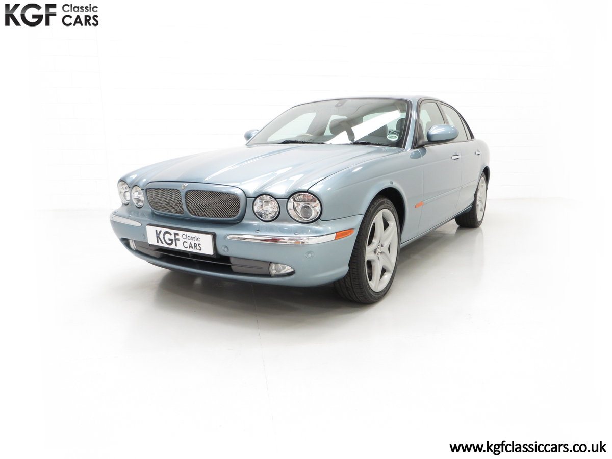 2003 A Stunning Jaguar XJ8 4.2 V8 Sport Premium with 29,432 Miles For Sale (picture 2 of 6)