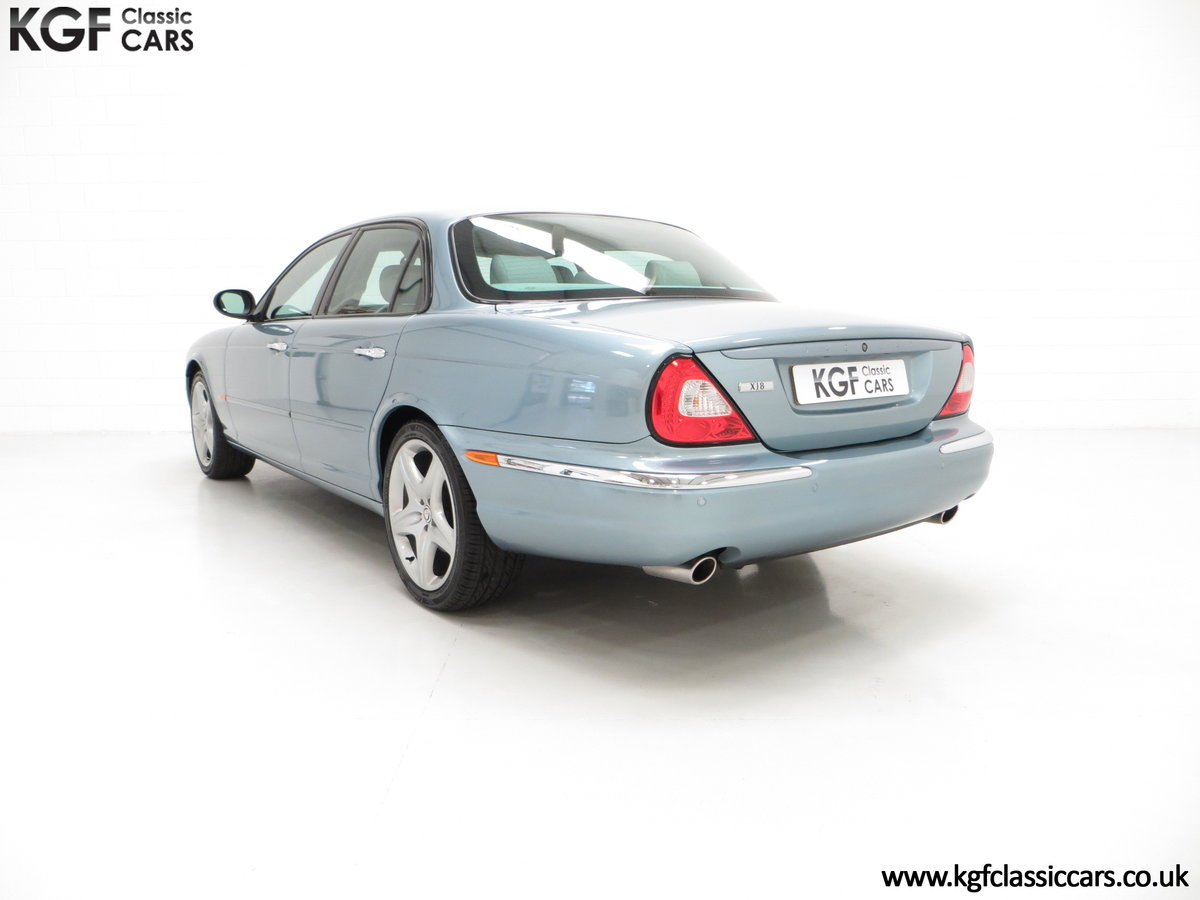 2003 A Stunning Jaguar XJ8 4.2 V8 Sport Premium with 29,432 Miles For Sale (picture 4 of 6)