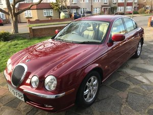 1999 Jaguar S-type 3 litre -  low mileage -  For Sale