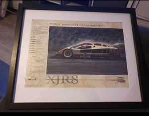 1987 Jaguar XJR8 Advert Original  For Sale