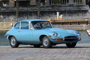1970 Jaguar Type E 4.2L coupé 2+2                    For Sale by Auction