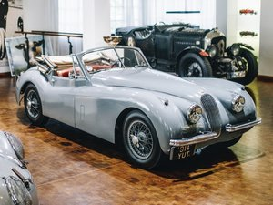 1953 Jaguar XK 120 Drophead Coup  For Sale by Auction