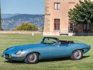1964 Jaguar E-Type Series 1 3.8-Litre Roadster  For Sale by Auction