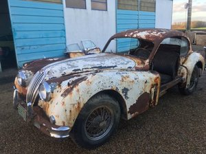 1955 XK 140 FHC - C-Type - For complete restoration  For Sale