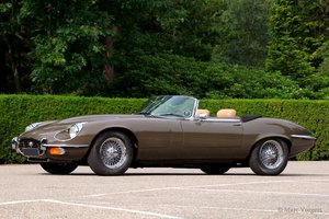 1974 Beautiful restored Jaguar E-type V12 Convertible. Restored ! For Sale