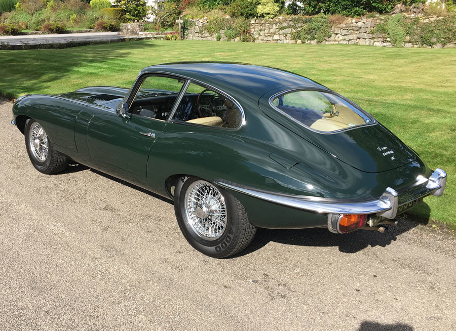 1969 Jaguar E-type Series 2 4.2 Coupe  For Sale (picture 4 of 6)