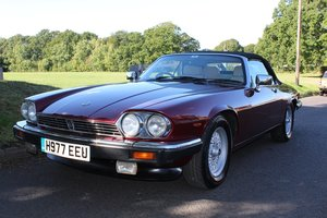 Jaguar XJS V12 Convertible 1991- To be auctioned 25-10-19 For Sale by Auction