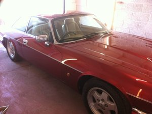 1993 jaguar xjs flamenco red 4.0 facelift