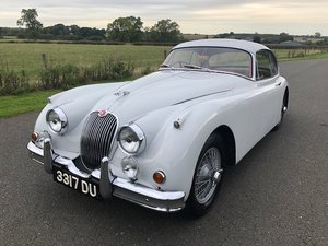 1959 Jaguar XK 150 3.4 FHC Manual Overdrive SOLD