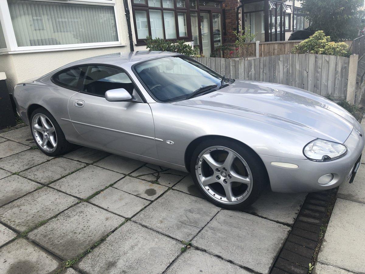 2001 Jaguar Xk8 silver For Sale by Auction (picture 1 of 6)