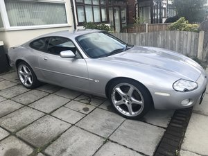 2001 Jaguar Xk8 silver