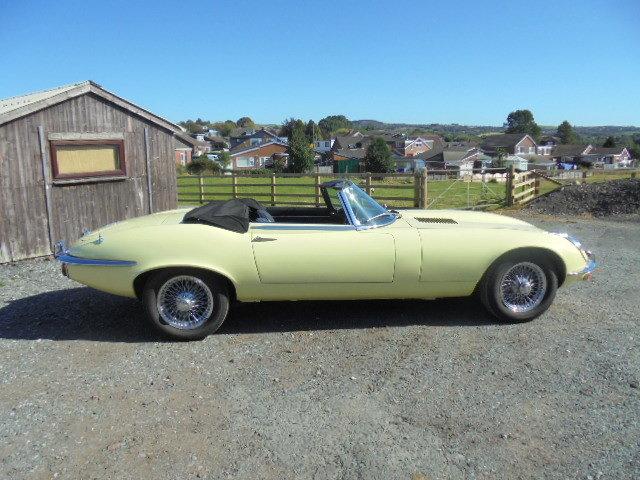 1972 Jaguar E Type V12 Roadster  For Sale (picture 1 of 6)