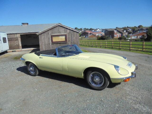 1972 Jaguar E Type V12 Roadster  For Sale (picture 2 of 6)