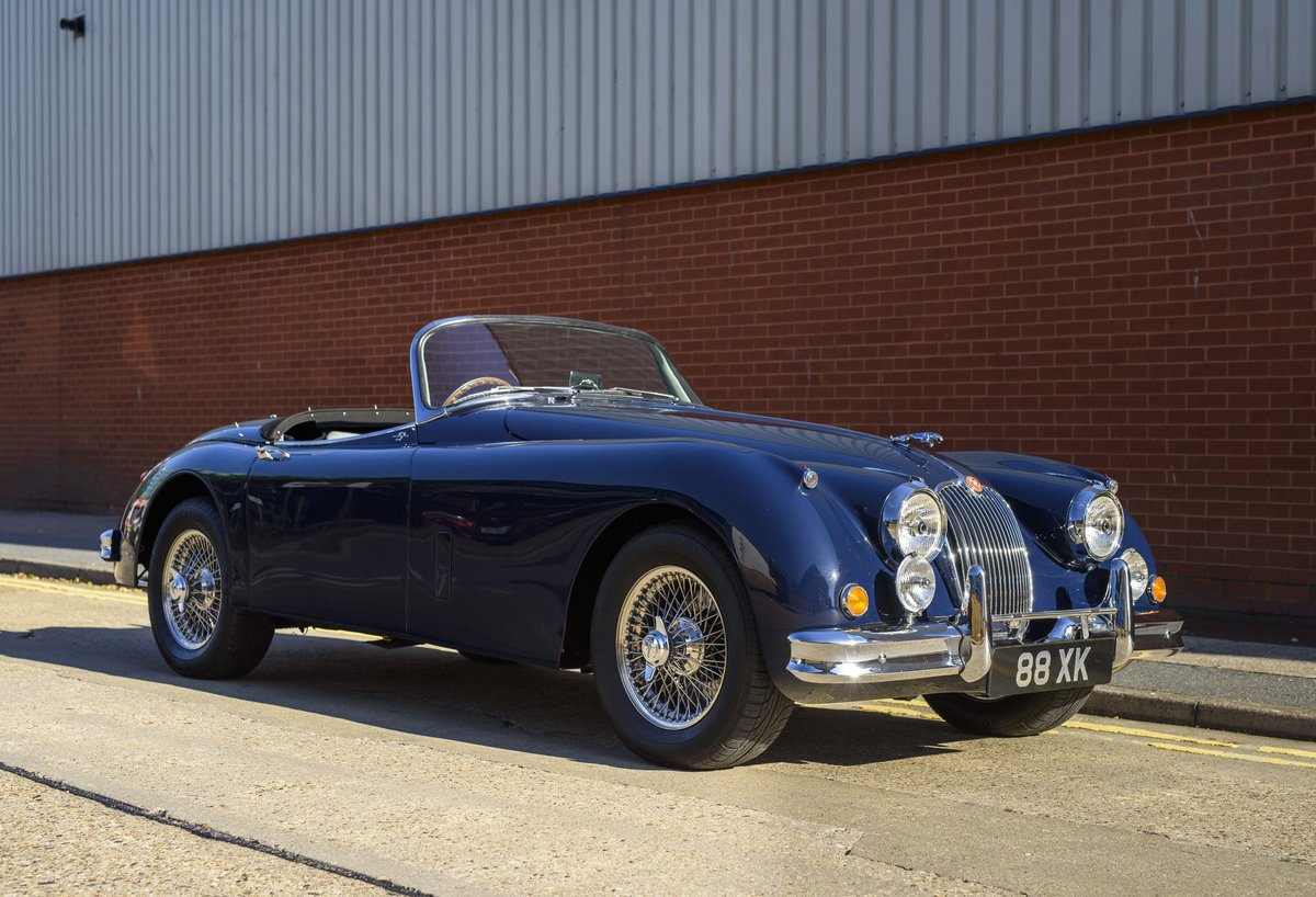 1958 Jaguar XK 150 S 3.4 Roadster for sale in London (RHD) For Sale (picture 2 of 22)