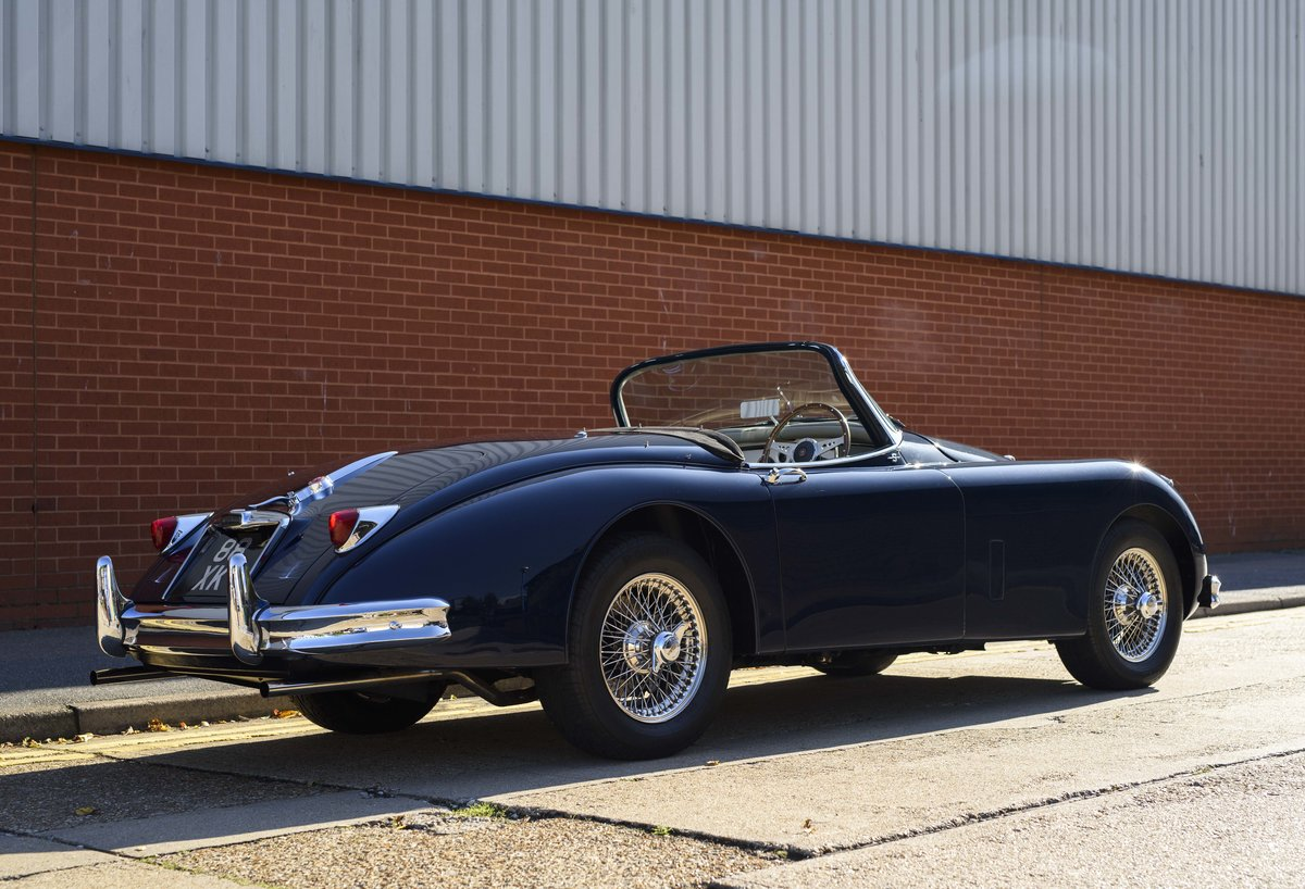 1958 Jaguar XK 150 S 3.4 Roadster for sale in London (RHD) For Sale (picture 3 of 22)