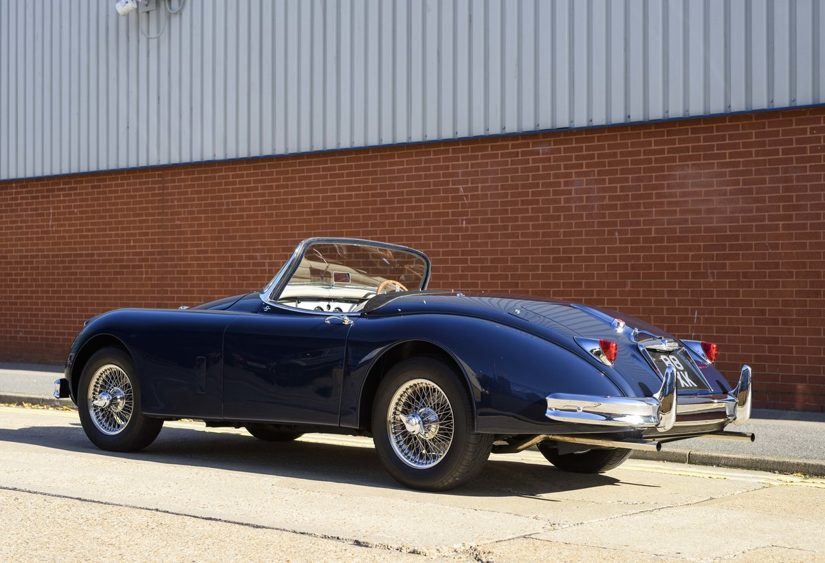 1958 Jaguar XK 150 S 3.4 Roadster for sale in London (RHD) For Sale (picture 4 of 22)