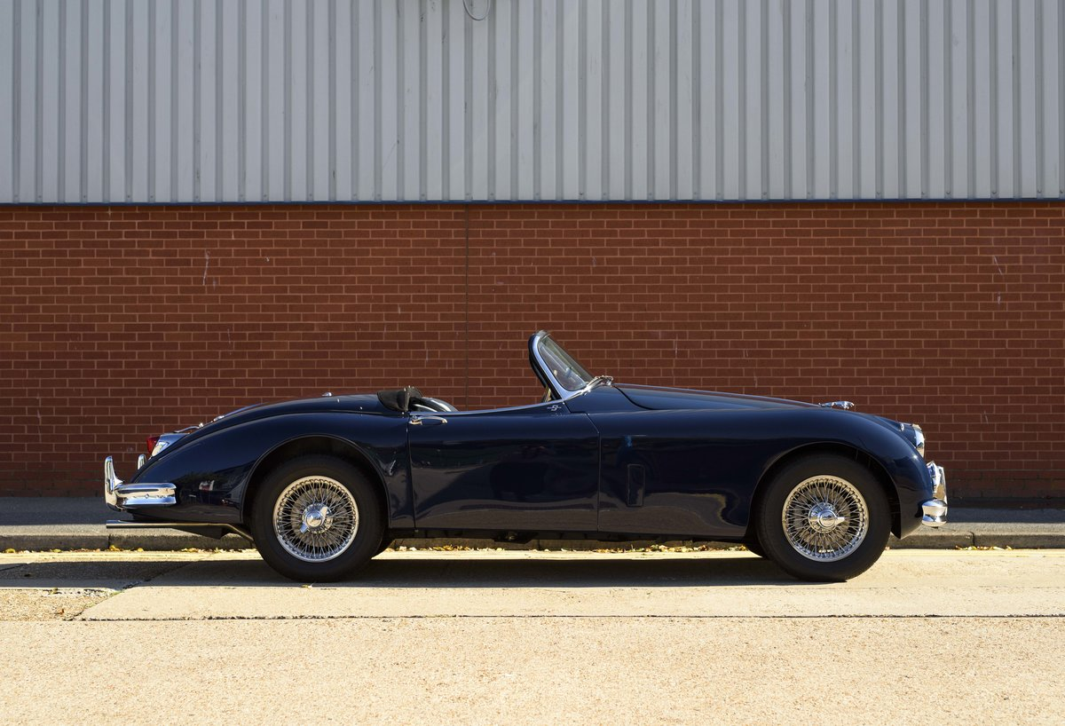 1958 Jaguar XK 150 S 3.4 Roadster for sale in London (RHD) For Sale (picture 5 of 22)