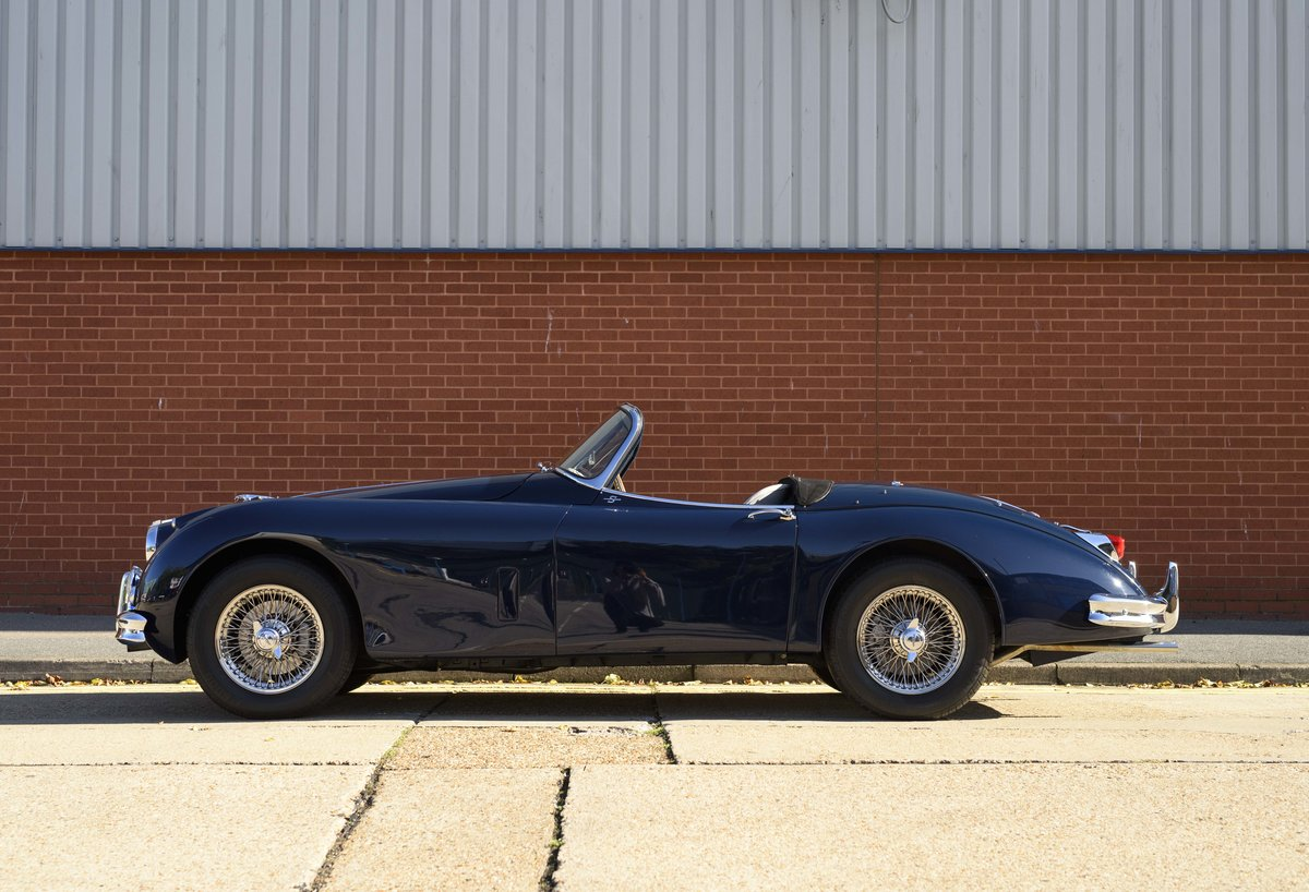 1958 Jaguar XK 150 S 3.4 Roadster for sale in London (RHD) For Sale (picture 6 of 22)