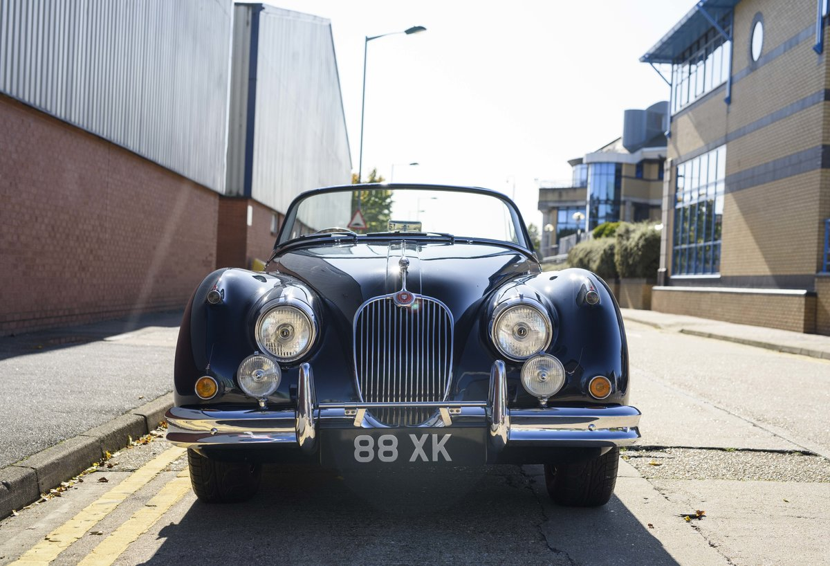 1958 Jaguar XK 150 S 3.4 Roadster for sale in London (RHD) For Sale (picture 7 of 22)