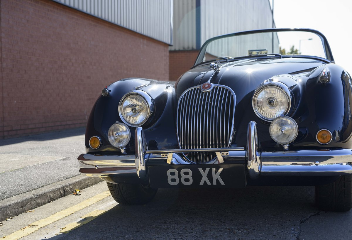 1958 Jaguar XK 150 S 3.4 Roadster for sale in London (RHD) For Sale (picture 12 of 22)
