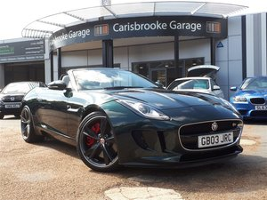 2014 Jaguar F-Type 3.0 Supercharged V6 S Auto For Sale