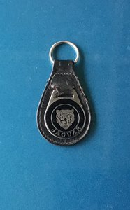 Jaguar Collectable Melsome of Birmingham Keyring.