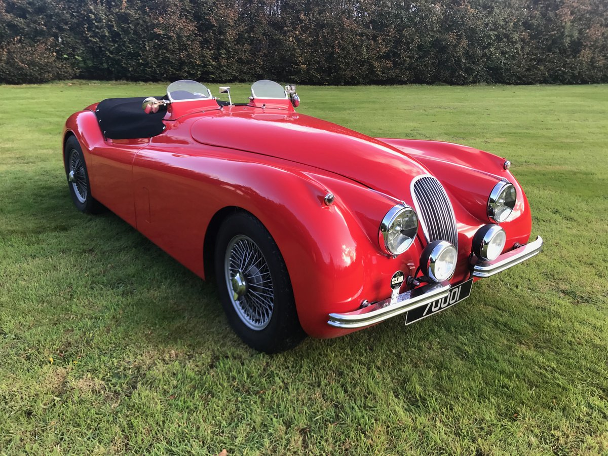 1952 Jaguar XK120 Roadster fully restored and uprated For Sale (picture 1 of 6)
