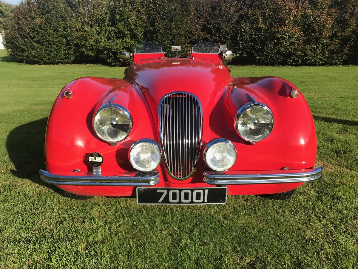1952 Jaguar XK120 Roadster fully restored and uprated For Sale (picture 3 of 6)