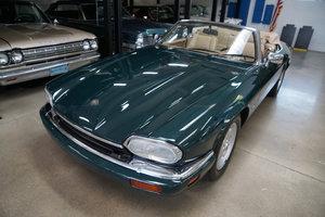 1994 Jaguar XJS rare factory 5 spd manual 4.0L Convertible SOLD