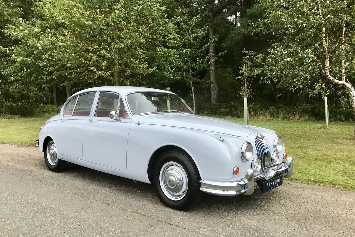 1960 Jaguar MkII 2.4 MOD - 1 owner 44yrs, 35k miles - Beautiful! For Sale (picture 1 of 6)