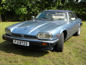 1987 Jaguar XJ-SC 5 Speed Manual Cabriolet Targa Roof 3.6 L SOLD