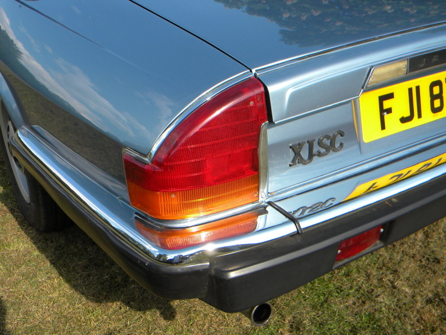 1987 Jaguar XJ-SC 5 Speed Manual Cabriolet Targa Roof 3.6 L SOLD (picture 5 of 6)