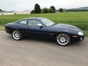 2001 Jaguar XKR Coupe Auto SOLD