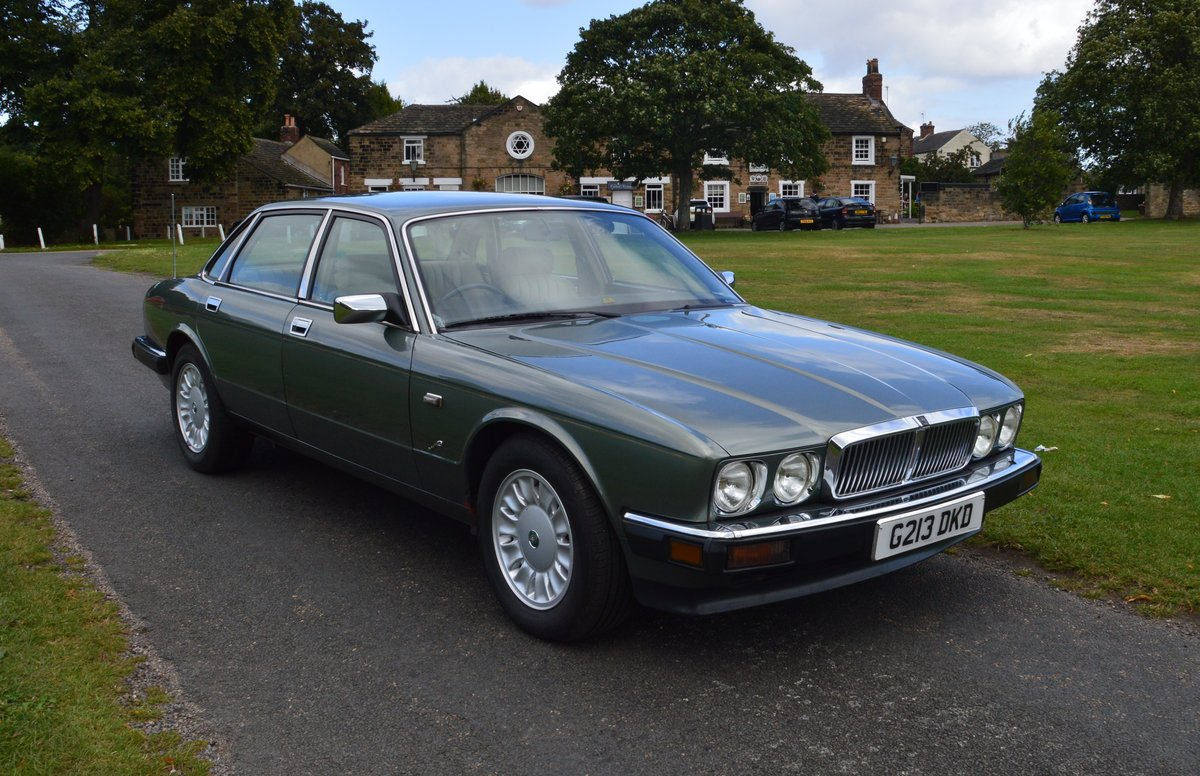 1990 Jaguar XJ6 Jade Green Metalic For Sale (picture 1 of 4)