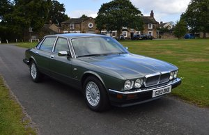 1990 Jaguar XJ6 Jade Green Metalic For Sale