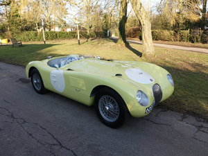 1953 Suffolk Jaguar C-type ex works demonstrator For Sale