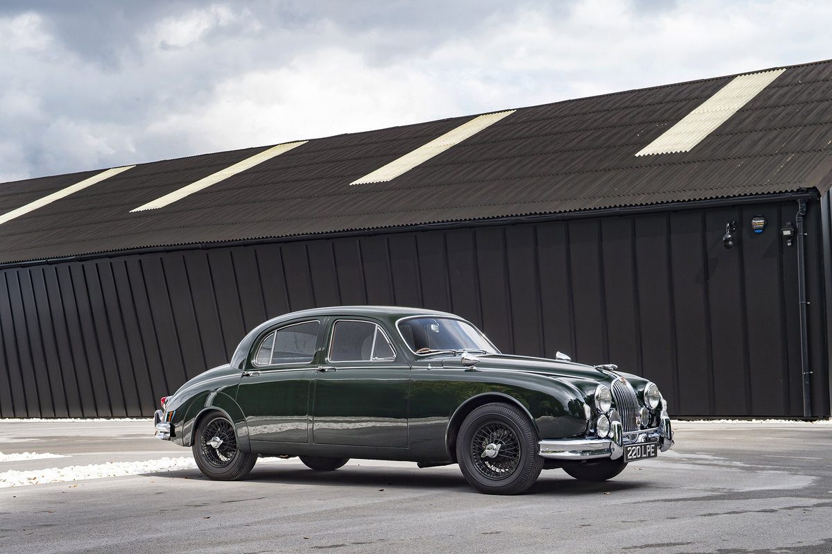 1959 Jaguar MK1 3.4 - EX-GERRY MARSHALL For Sale (picture 1 of 6)