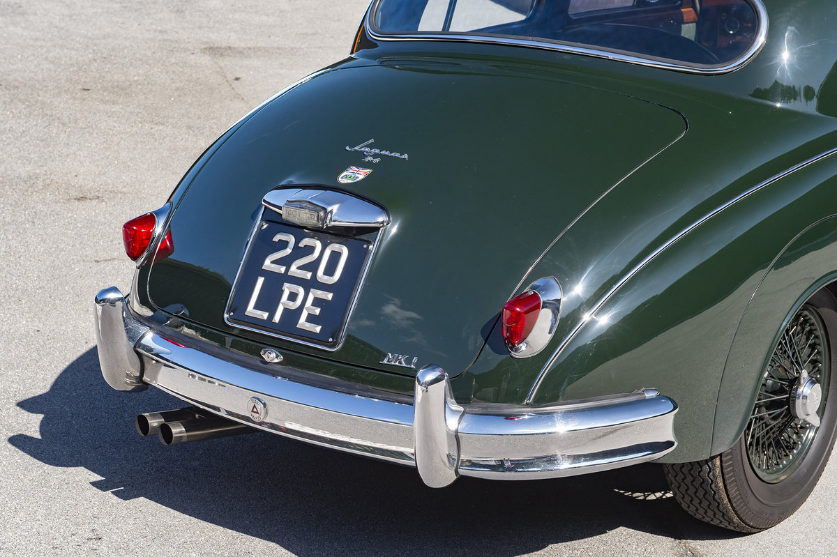 1959 Jaguar MK1 3.4 - EX-GERRY MARSHALL For Sale (picture 6 of 6)
