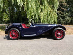Suffolk Jaguar SS100 4.2 fast road