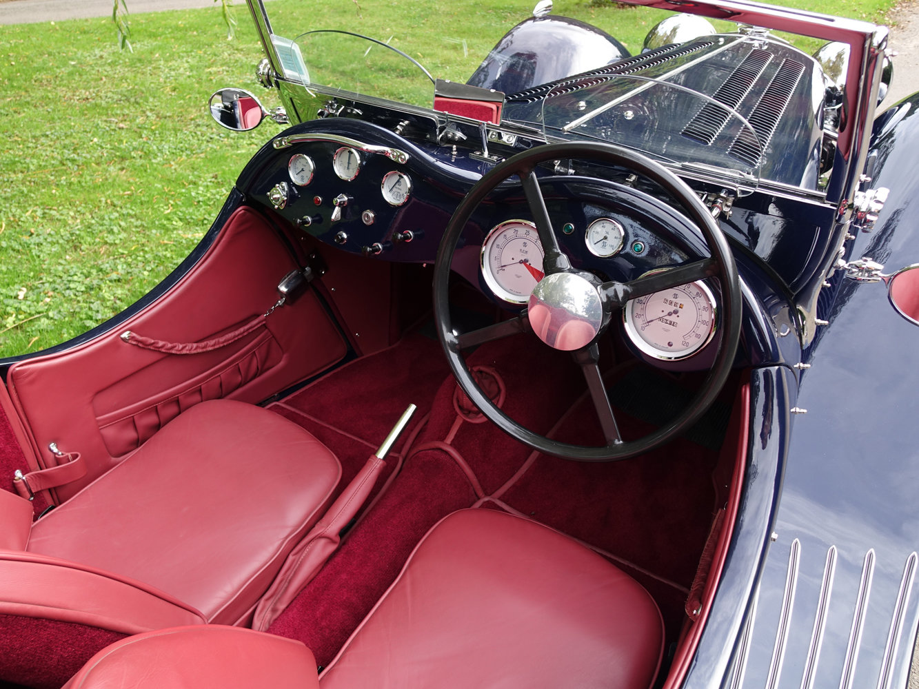 Suffolk Jaguar SS100 4.2 with Certificat D'imatricuation For Sale (picture 4 of 6)