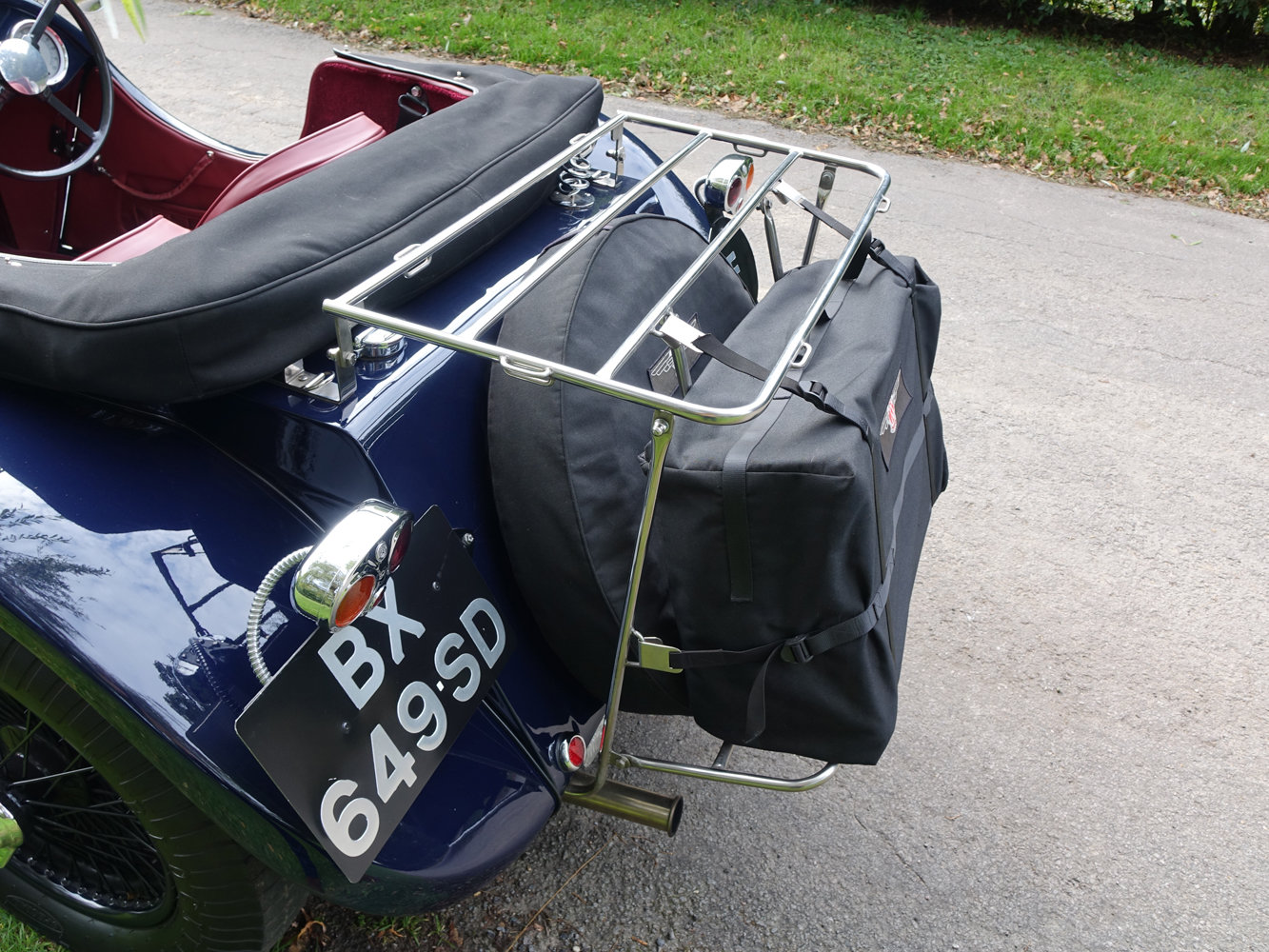 Suffolk Jaguar SS100 4.2 with Certificat D'imatricuation For Sale (picture 5 of 6)