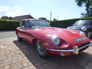 1969 E-type - Restored,excellent condition.