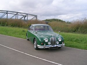 1967 Jaguar Mark II 3.8 Manual Overdrive Historic Vehicle For Sale