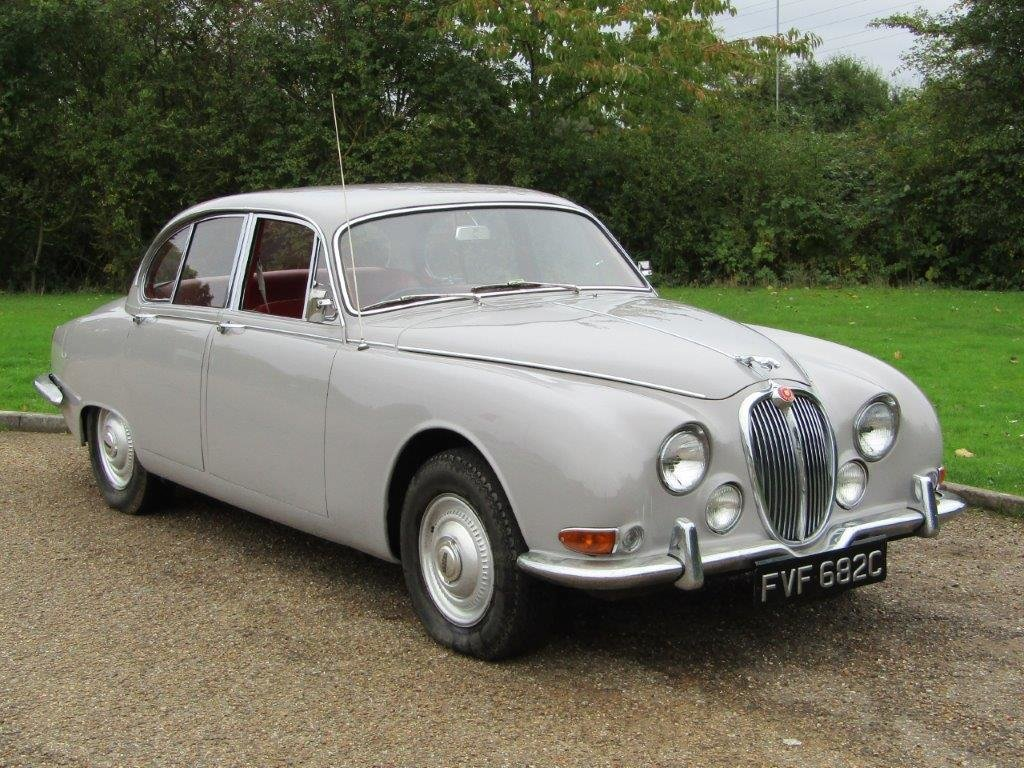 1965 Jaguar S-Type 3.4 Auto at ACA 2nd November For Sale   Car And Classic