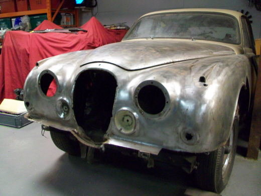 1968 JAGUAR MK2 RESTORATION PROJECT For Sale (picture 1 of 3)