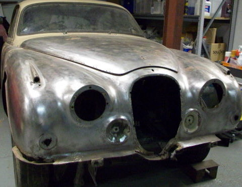 1968 JAGUAR MK2 RESTORATION PROJECT For Sale (picture 3 of 3)